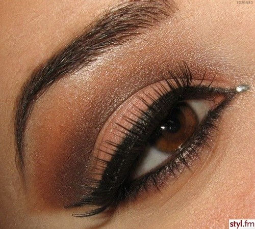brown, eyes, eyes lash, make up