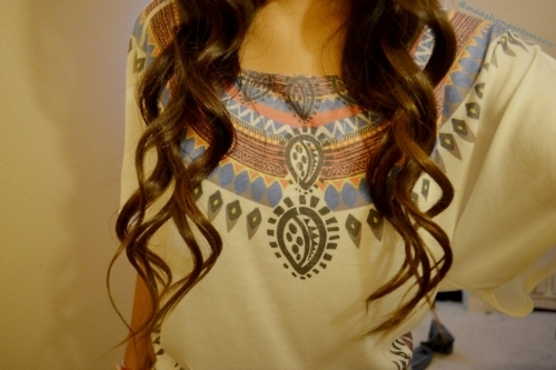 brunette, curls, curly hair, cute, fashion, hair, tribal