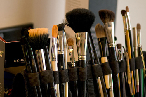 brush, luxury, make up