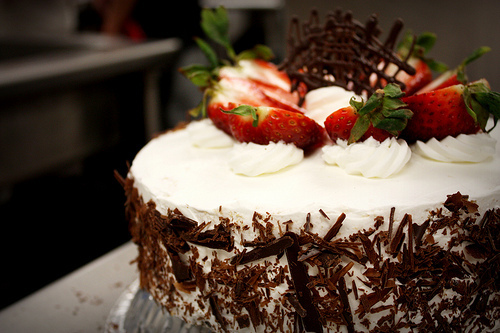 cake, food, photography, strawberry, yummy