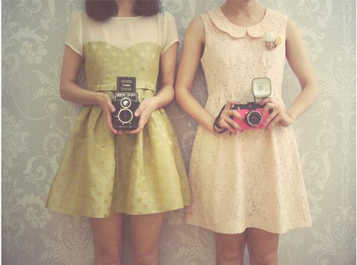 camera, cute, fashion, girl, hipster