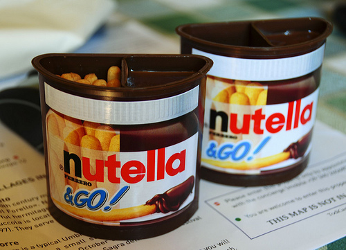 candy, delicious, food, like, nutella, nutella & go!, sweet