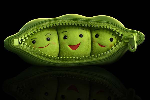 cartoon, cute, green, pea, peas