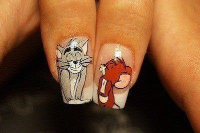 cats, kitten, nail polish, nails