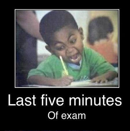 charlotte howe, child, exam, five, funny, last, minutes