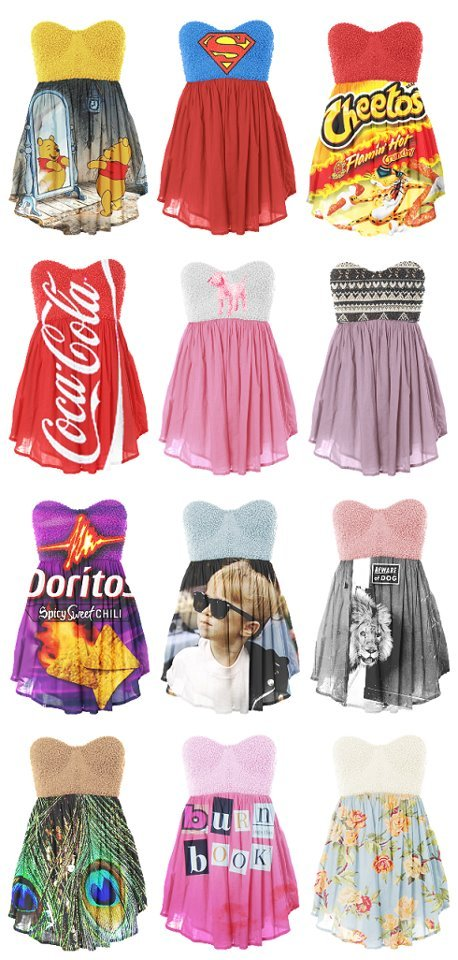 cheetos, coca cola, dresses, funny, summer