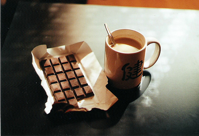 chocolate, coffee, photography, vintage
