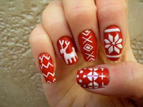 christmas, fashion, nailstick