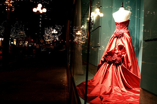 city, dress, night, pretty