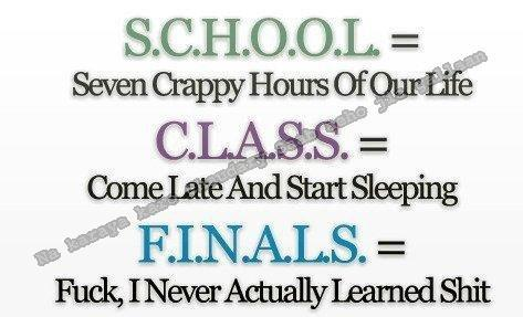 class, school, text, truth