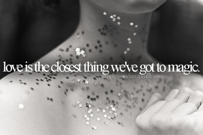 closest, girl, glitter, love, magic