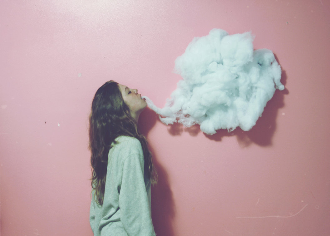 cloud, clouds, girl, maker, nile-can-too