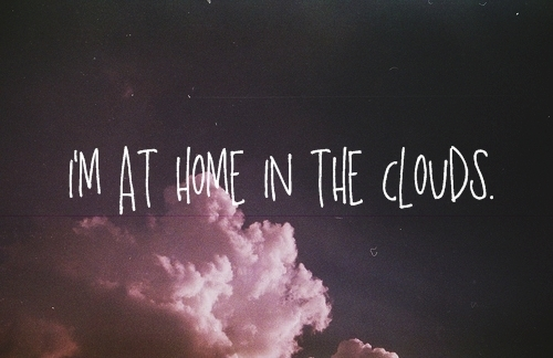 clouds, photography, quote, sky, text