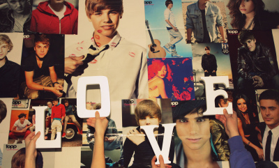 cody simpson, demi lovato, eric saade, hands, justin bieber, letters, lipstick, love, one direction, photowall, pictures, poster, posters, posterwall, rihanna, selena gomez, text, zack efron