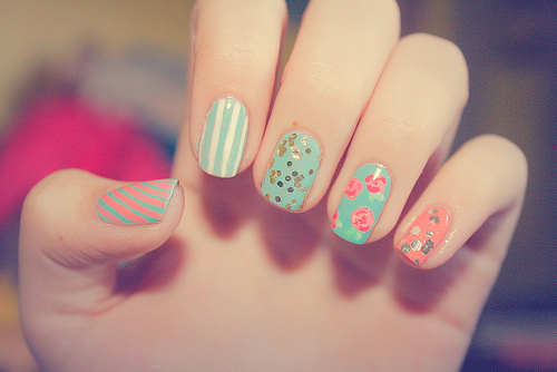 color, cute, cute colours, fashion, fingers