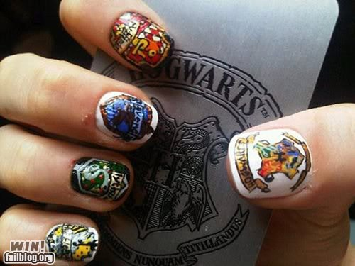 color, funny, griffindor, hand, harry potter