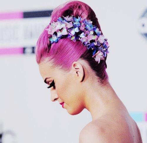 Colorful Eyes Fashion Hair Katy Perry Image 448482 On