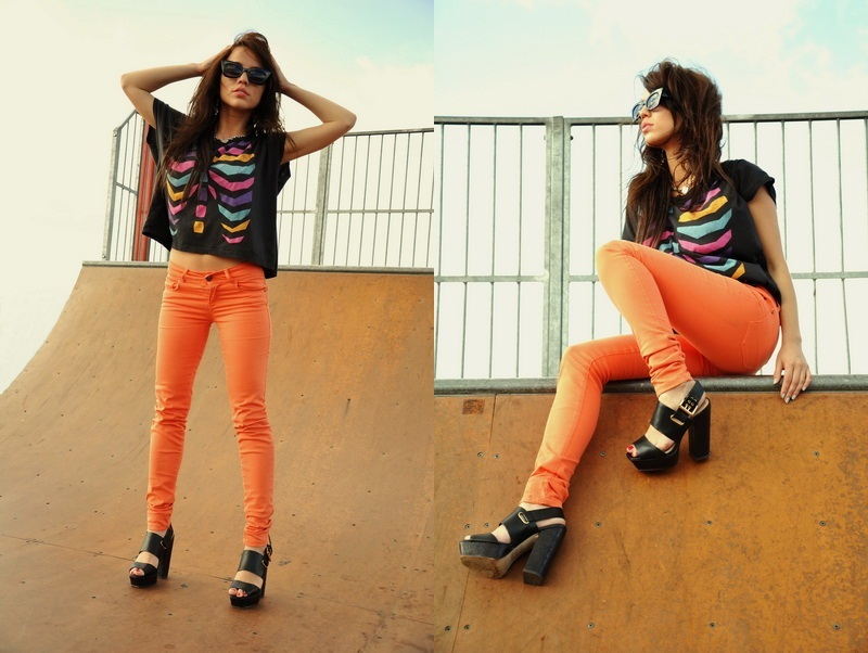 colors, cute, diptic, fashion, girl