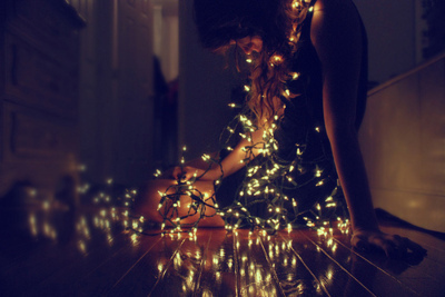 colors, cute, girl, lights, photography, picture, pretty, sparkle