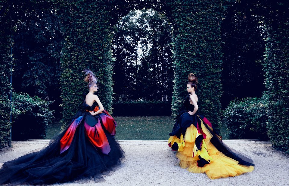 colors, dior, dress, forest, garden