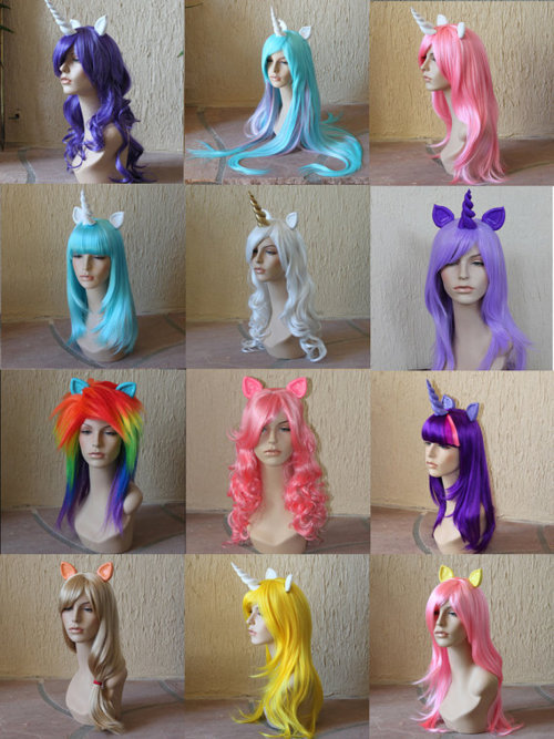 colors, dolls, fantasy, hair, mlp fim