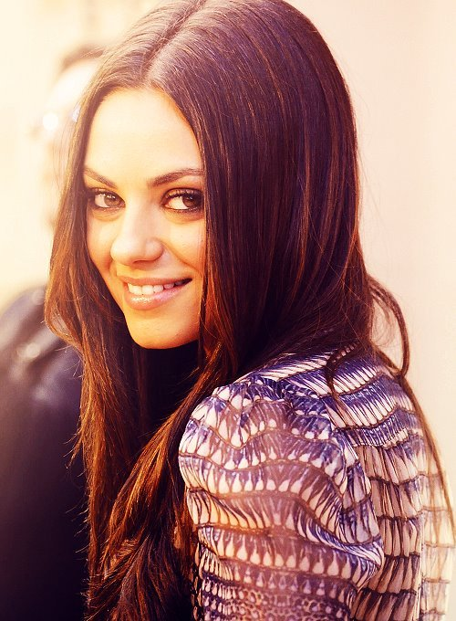 colors, mila kunis, photography, pretty, text