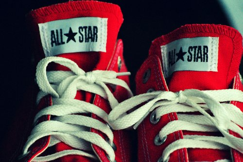 converse, cool, fashion, photography, red