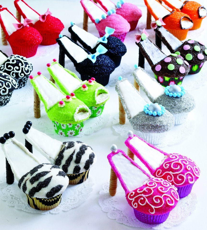 cool, cupcakes, cute, good idea, heels
