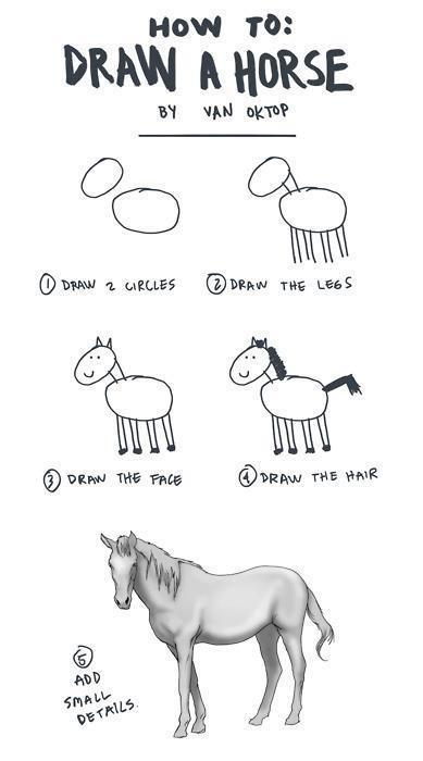 cool, draw, fun, funny, horse
