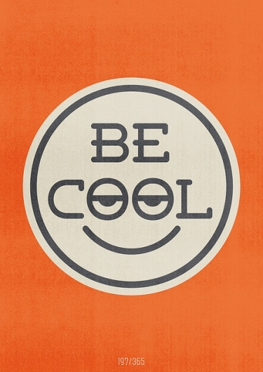 cool, illustration, smile, typo, typography