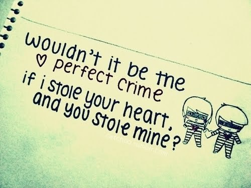 couple, crime, cute, heart, perfect crme