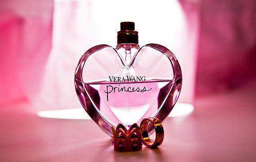 crown, perfume, pink, princess, vera wang