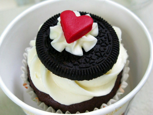 cupcake, delicious, food, ice cream, oreo