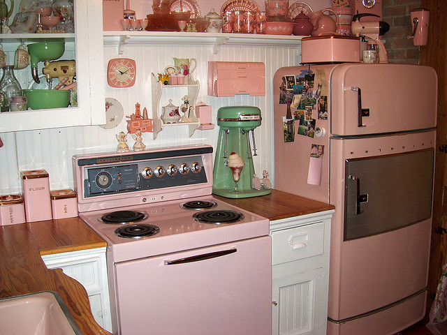 cupcakes, cute, fridge, ice cream, kitchen