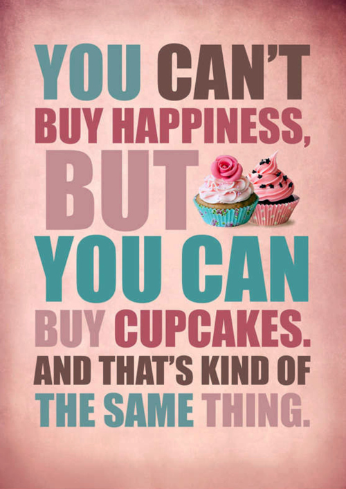 cupcakes, happiness, happy, text