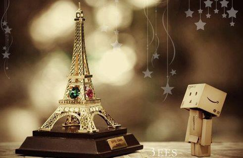 cute, dambo, eiffel tower