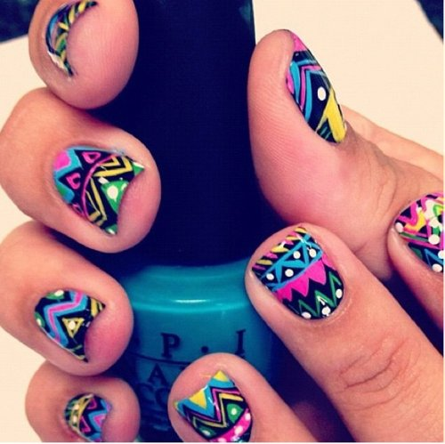 cute, design, girl, hands, nails, paint