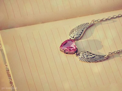 cute, diamond, heart, jewelry, necklace