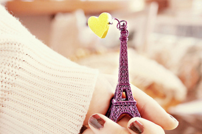 cute, dream, eiffel, eiffel tower, heart, love, paris, photography