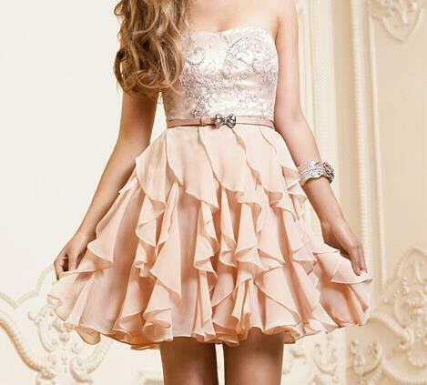 Cute dress fashion girl pretty