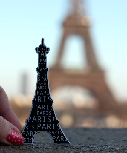 cute, eiffel, nails, paris, photography