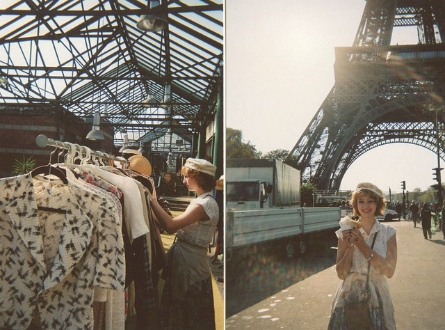 cute, eiffel tower, fashion, girl, paris