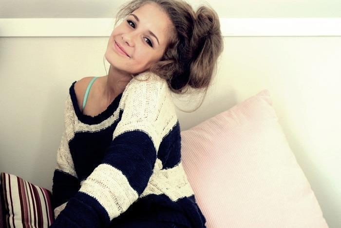 cute, fashion, girl, smile