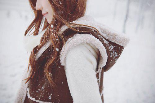 cute, fashion, girl, snow, winter