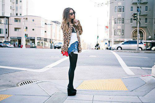 cute, fashion, girl, street