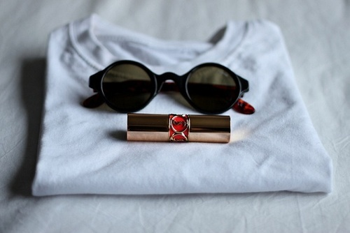 cute, fashion, girly, photo, photography, sunglasses, yves saint laurent