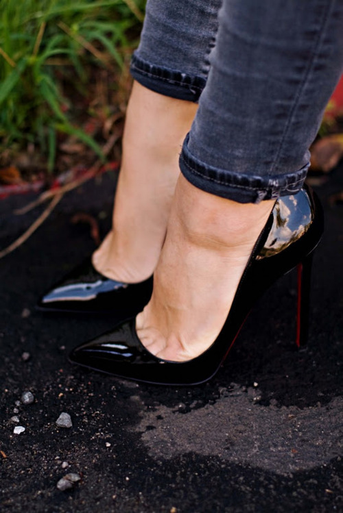 cute, fashion, heels, high heels, louboutins