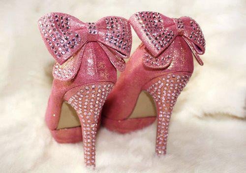 cute, fashion, pink, pretty, rhinestones