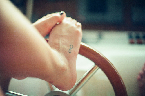 cute, feets, girl, infinite tattoo