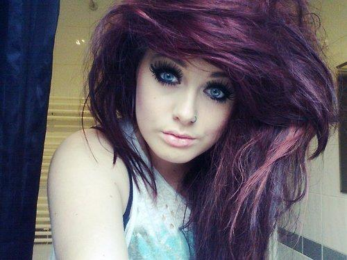 cute, girl, piercings, tattoo
